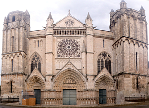 Cathedral of Poitiers France