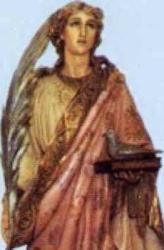 Saint Columba of Sens