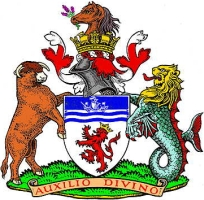 coat of arms for Devon, England