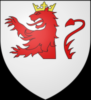 coat of arms for Dinant, Belgium