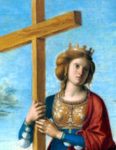 detail from 'Saint Helena' by Cima da Conegliano, c.1495