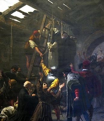 Martyrs of Gorkum, Cesare Fracassino, 1838-1868, Vatican City
