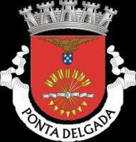 coat of arms for Ponta Delgada, Portugal
