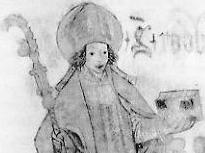 illustration of Saint Radbod of Utrecht, c.1600, artist unknown; swiped from Wikipedia