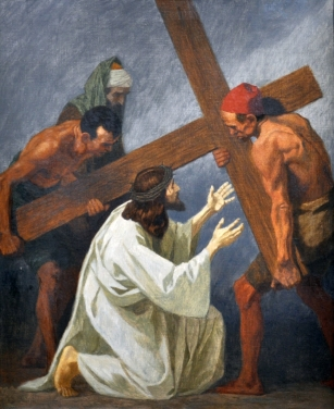 Second Station - Jesus Carries His Cross
