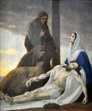 Thirteenth Station - Jesus is Taken Down From the Cross and Laid in Mary's Arms