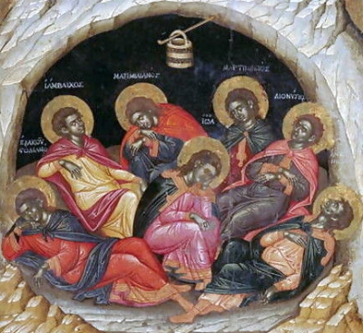 http://catholicsaints.info/wp-content/uploads/Seven-Sleepers-of-the-Ephesos-by-Emmanuel-Tzanes.jpg