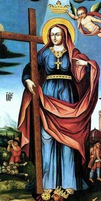 18th century portrait of Saint Rhipsime; swiped off Wikipedia