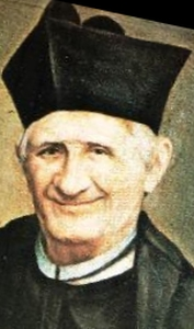 detail from a portrait of Blessed Luca Passi; swiped off the we