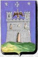 coat of arms for Montecastello, Italy