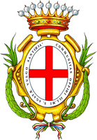 coat of arms for Santhià, Italy