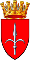 coat of arms for Trieste, Italy