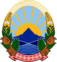 coat of arms for the Republic of Macedonia