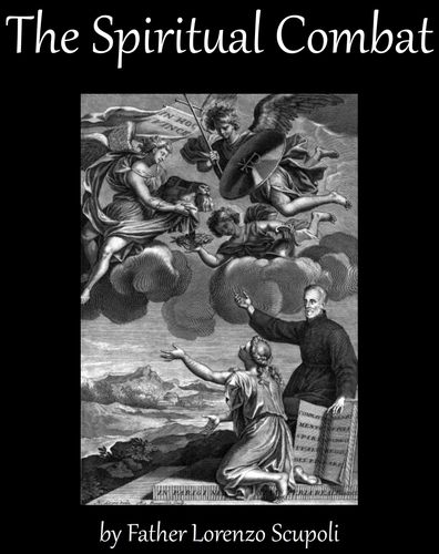 cover for the ebook of 'The Spiritual Combat' by Father Lorenzo Scupoli