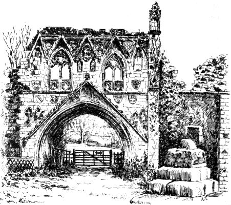Kirkham priory gatehouse