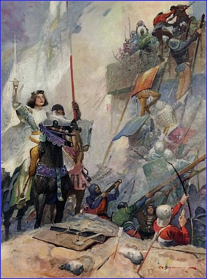 the early life and times of joan of arc The childhood of joan of arc from the story of joan of  the story of her life is so strange that we could  as at other times the french sent armies.