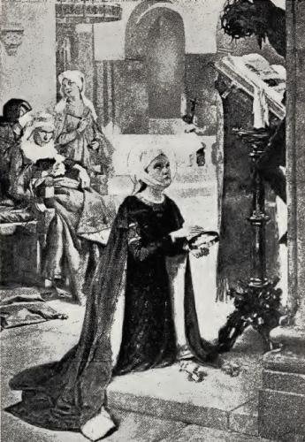 The Child Saint Elizabeth at Prayer