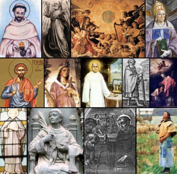some of the saints and beati commemorated on 3 January