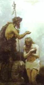 detail from 'Baptism of Christ', by Henryk Siemiradzki, 1876, Russian Museum, Saint Petersburg, Russia
