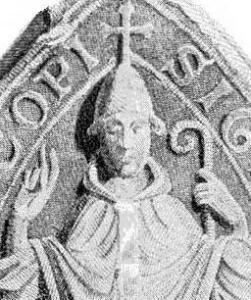 signet of Bishop Jocelin of Glasgow, Scotland