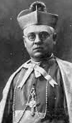 Bishop Manuel Irurita Almándoz