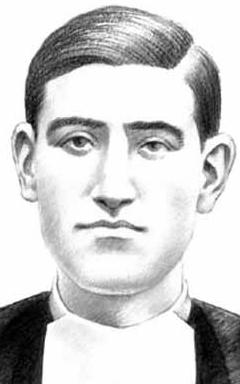 illustration of Blessed Álvaro Ibáñez Lázaro, date and artist unknown; swiped from Santi e Beati