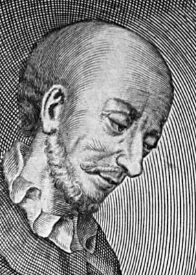 engraving of Blessed Adalbero of Lambach,by Johann Salver of Würzburg,  c.1713; from a series of illustrations of the bishops of Wurzburg; swiped off Wikimedia Commons
