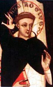 Blessed Ambrose Sansedoni of Siena holy card