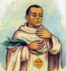 detail of an Italian holy card of Blessed Francesc Mitjá i Mitjá by Bertoni, date unknown; swiped from Santi e Beati