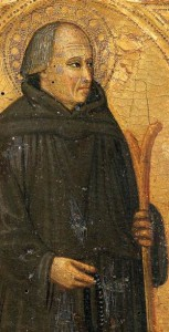 portrait of Blessed Gerard of Villamagna by Bicci di Lorenzo, early 15th century