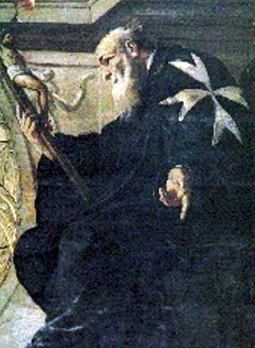 Blessed Gerlando d'Alemagna, date and artist unknown; swiped from Santi e Beati