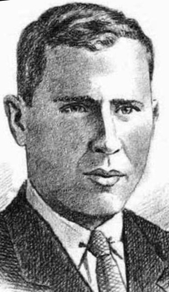 detail of an illustration of Blessed Gil Rodicio y Rodicio, date and artist unknown; swiped from Santi e Beati; click for source image