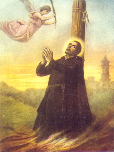 painting of Blessed Jerome de Angelis