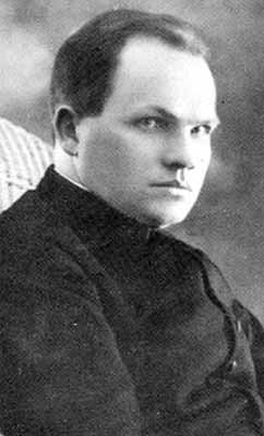 photograph of Blessed Jerzy Kaszyra, date, location and photographer unknown; swiped from Santi e Beati