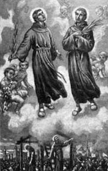 Blessed John Jones and Saint John Wall