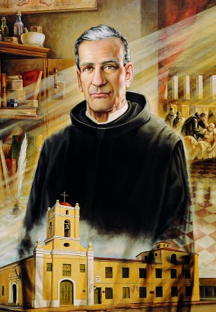 the beatification portrait of Blessed José Ollalo Valdés