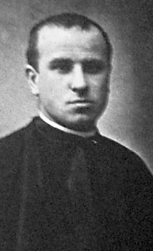 photograph of Blessed Josep Sala Picó, date, location and photographer unknown; swiped from Santi e Beati