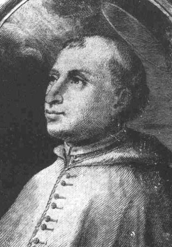 illustration of Blessed Louis Allemand, date and artist unknown; swiped from Santi e Beati