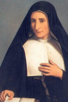 beatification portrait of Blessed Luigia Poloni, date and artist unknown; swiped from the Vatican web site