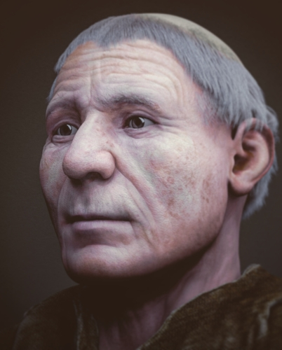 forensic reconstruction of the face of Blessed Luke Belludi