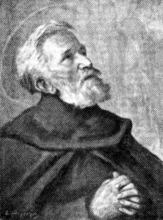 detail of a painting of Blessed Manfredo Settala, date and artist unknown; swiped from Santi e Beati