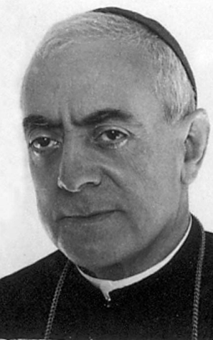 Blessed Manuel Borràs Ferré, date, location and photographer unknown; swiped from Santi e Beati