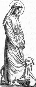 New Catholic Dictionary illustration of Blessed Margaret of Cortona