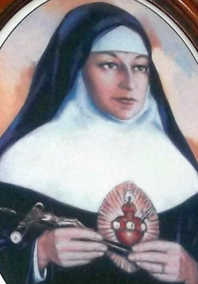 detail of a portrait of Blessed Maria Bárbara Maix, date unknown, artist unknown; swiped off Wikimedia Commons