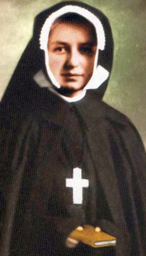 photograph of Blessed Maria Dina Bélanger, date and photographer unknown; swiped from Santi e Beati