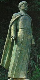 statue Blessed Petrus Kasui Kibe by Yasutake Funakoshi
