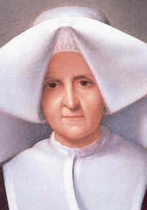 detail from the Vatican portrait of Blessed Rosalie Rendu, date and artist unknown