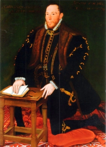 portrait of Blessed Thomas Percy, date and artist unknown; swiped from Santi e Beati; click for source image