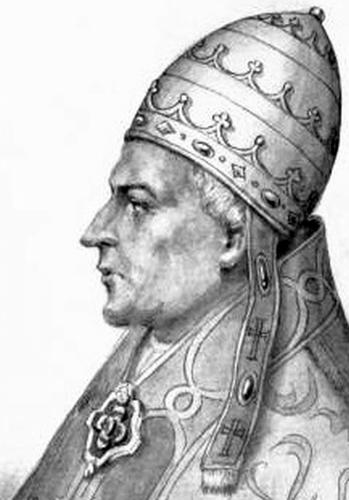 Cardinal Pietro Filargis as Antipope Alexander V
