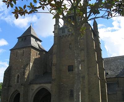 Cathedral of Saint-Brieuc; swiped from Santi e Beati